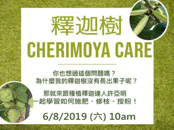 Cherimoya Care at Little Parrot Farm