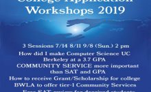 College application workshops