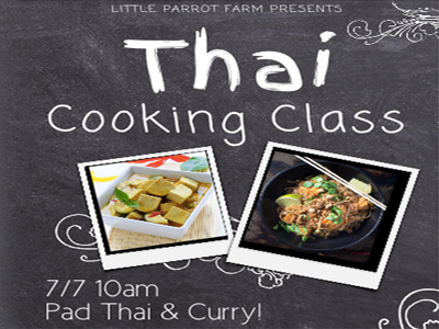 Thai Cooking Class: Pad Thai & Curry